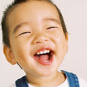 A smiling child is a happy child.