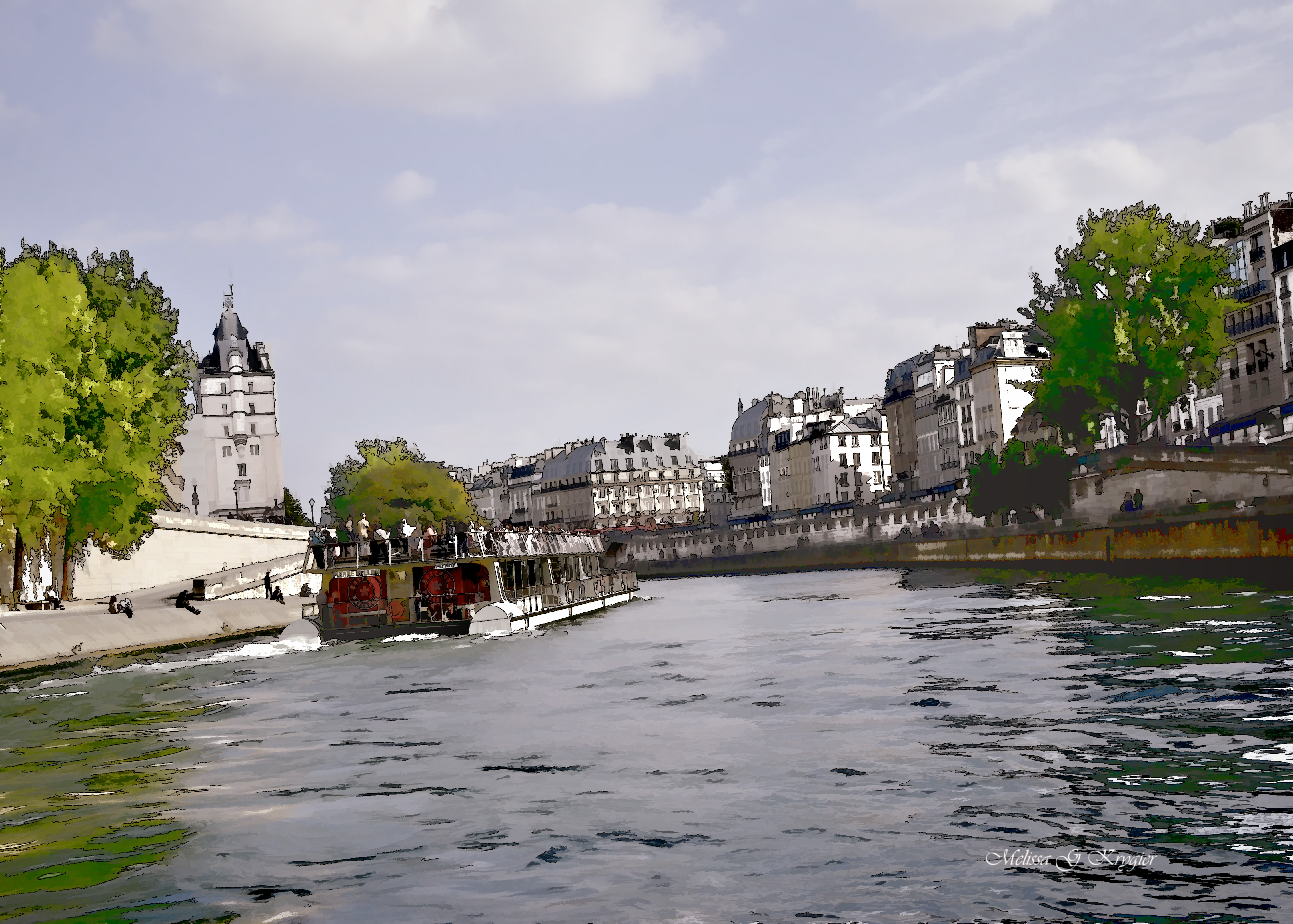 On the Seine