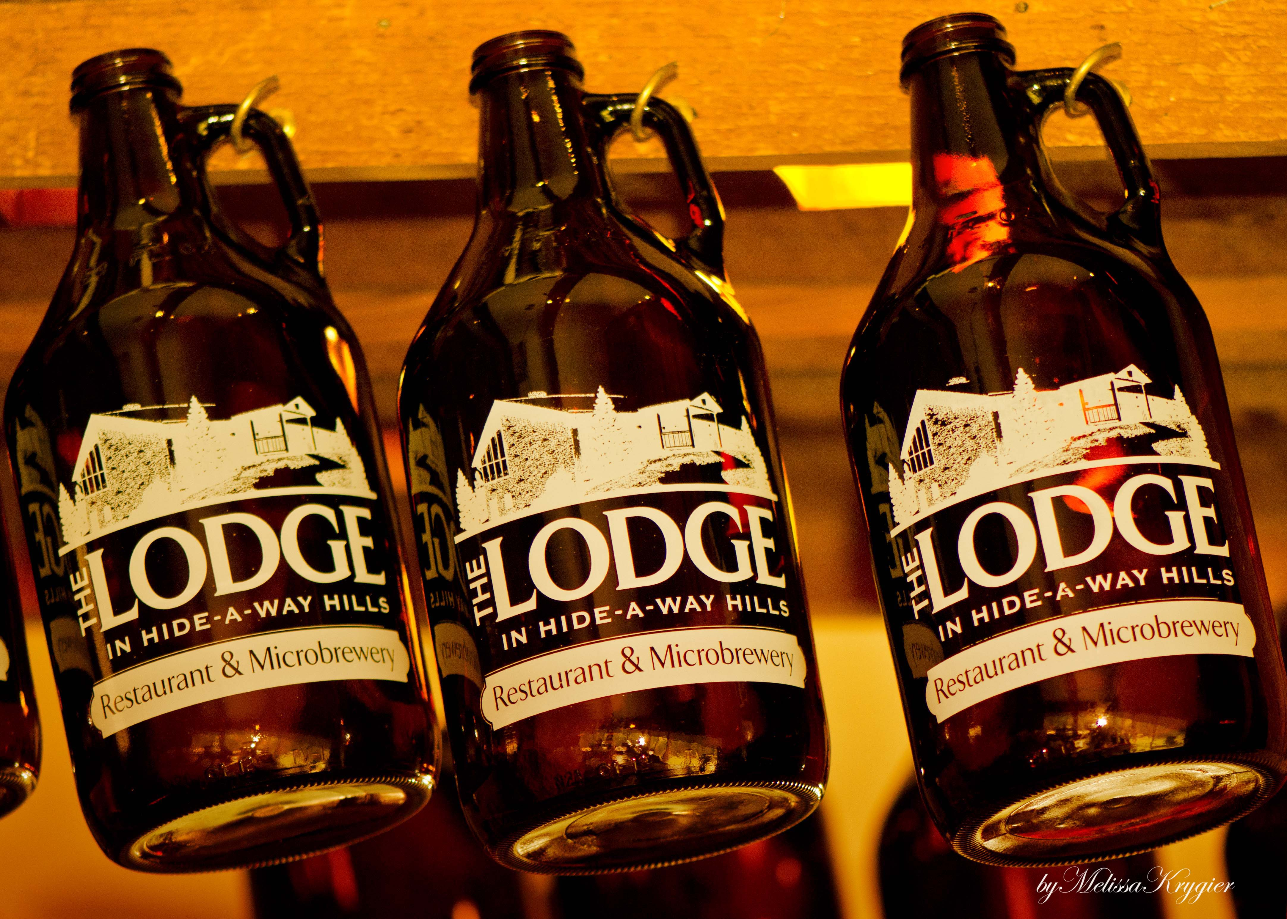 Try our own microbrewery beer