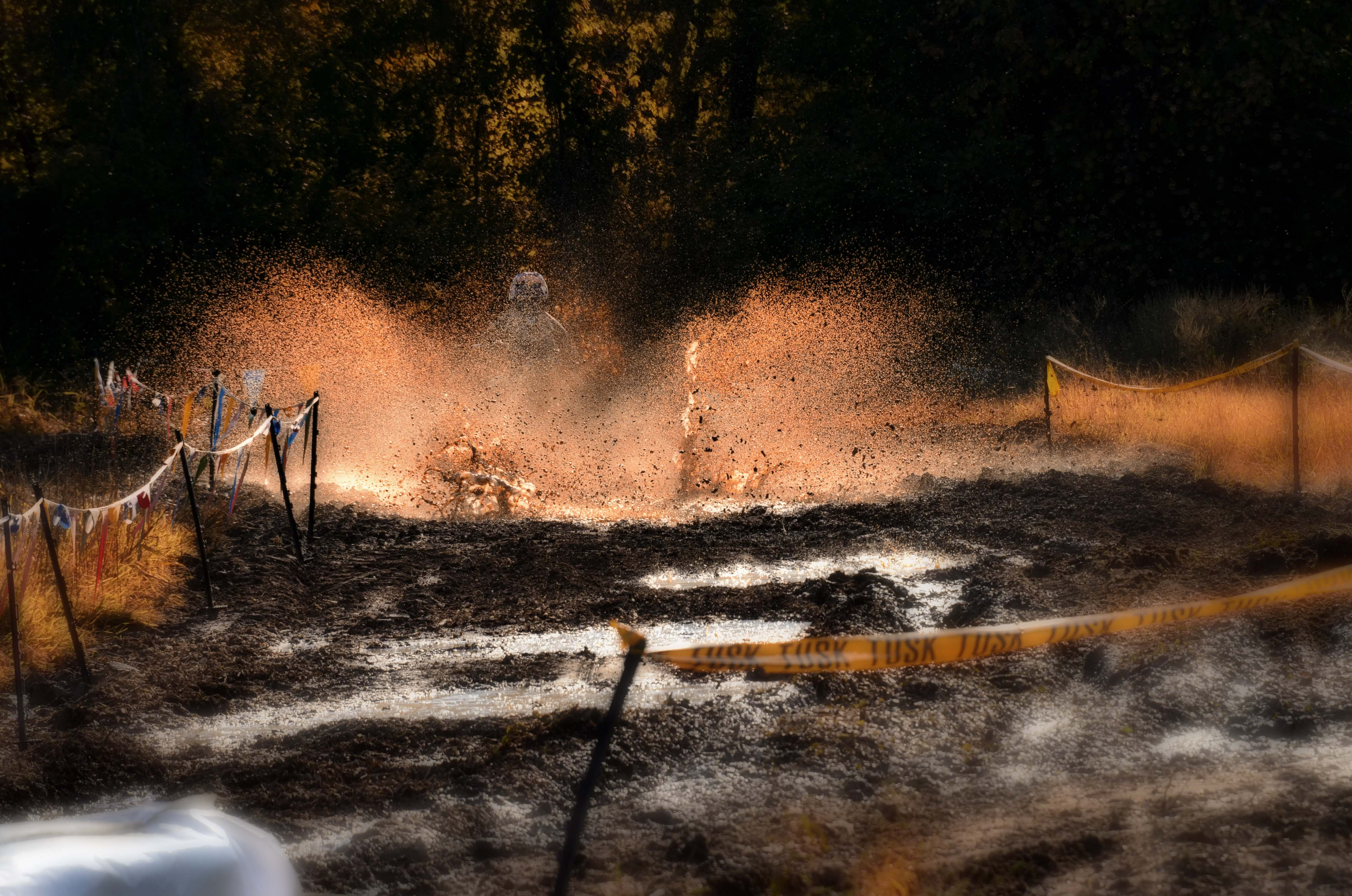 At the ORV Track