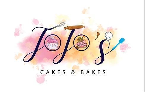 Jojo cakes and bakes logo