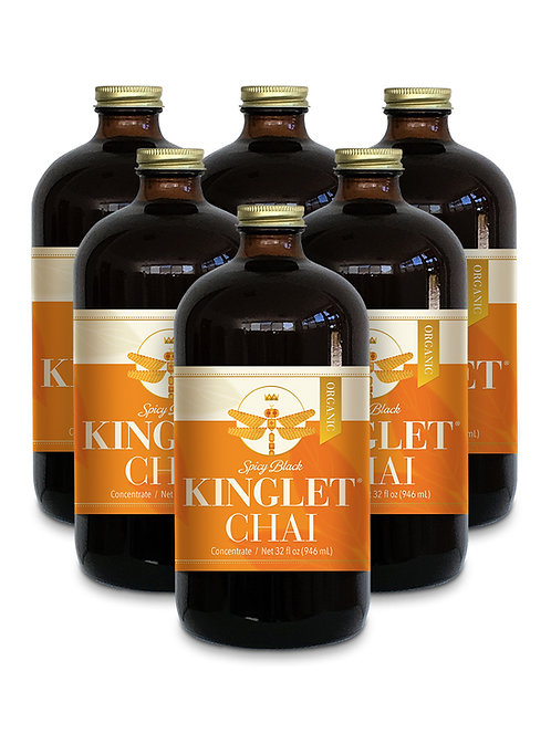 Spicy Black Chai - 6 Pack