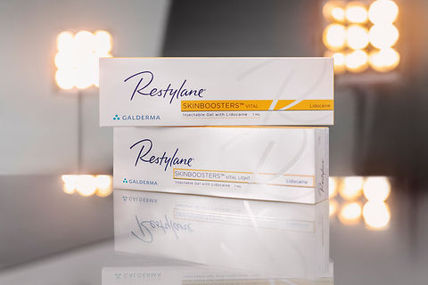 Restylane Vital and Vital Light Skinboosters