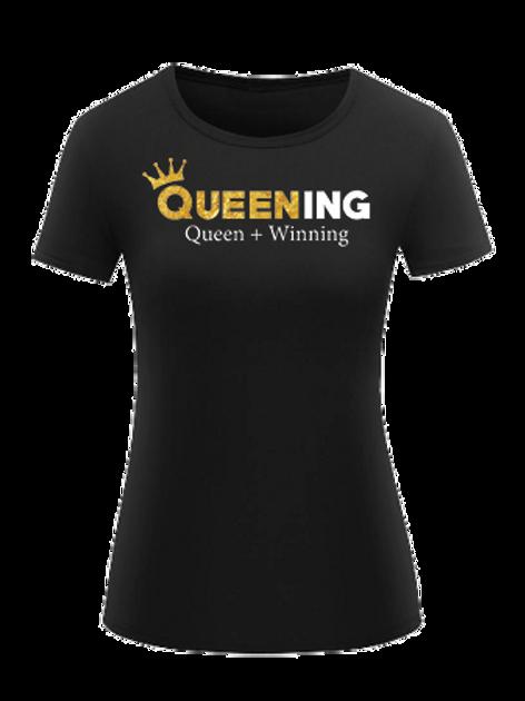 Queening Black T-Shirt