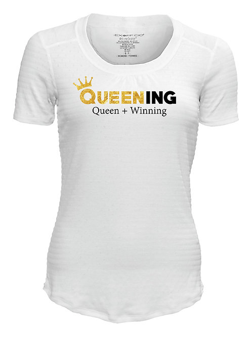 Queening White T-Shirt