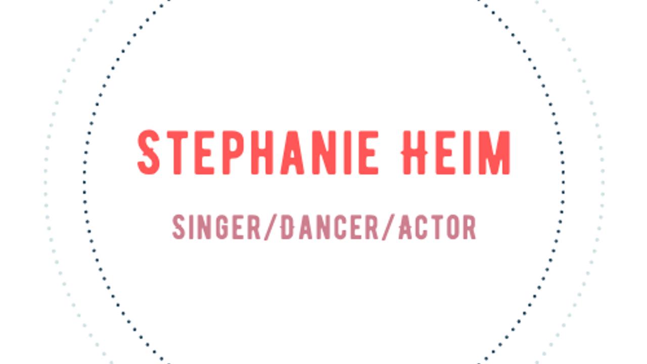 Stephanie Heim- Contemp. Dramatic Monologue