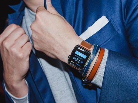 Trào lưu dây da đồng hồ handmade cho Smartwatch