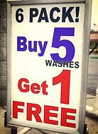 Free Car Wash Specials
