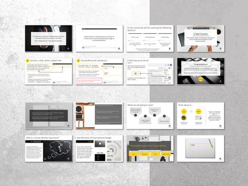 Presentation Design Examples