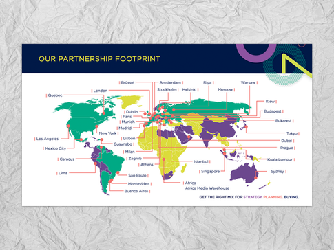Editable PowerPoint World Map