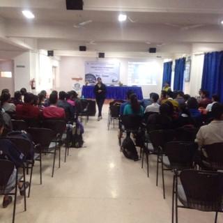 Conducting session on Entrepreneurship Development