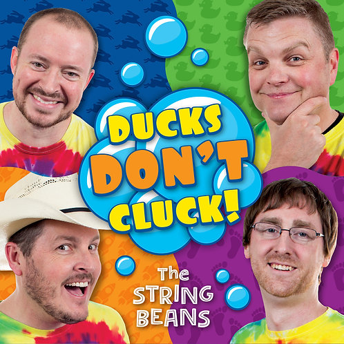 Ducks Don't Cluck! - Digital Download