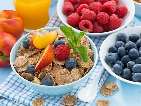 Wholegrain cereals for a good start in your day!