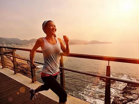 Jogging - aerodynamic training for better health