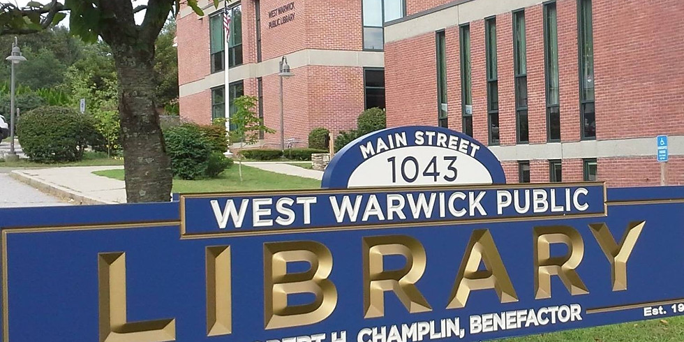 Sensory Playtime at West Warwick Public Library