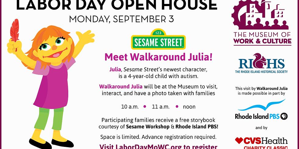 Meet Walkaround with Julia- Conoce a Julia