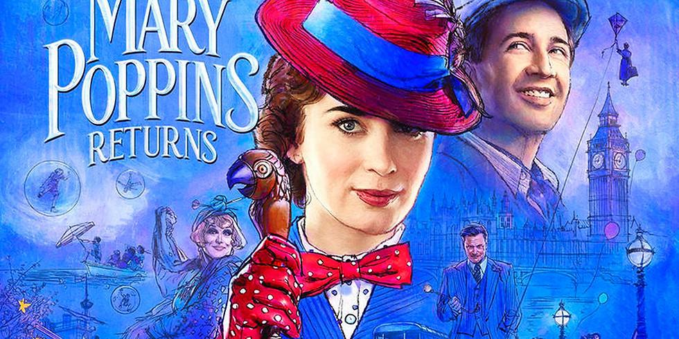 Mary Poppins Returns -Película Sensorialmente Amigable en Showcase Cinema (Blackstone Valley y Warwick)