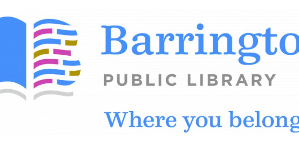 Hora del Cuento Sensorialmente Amigable en la libreria de Barrington (En ingles)