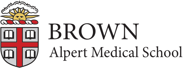 Alpert Medical School Logo.