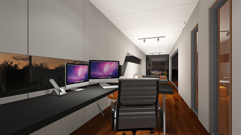 container office design. shipping container conversion office design