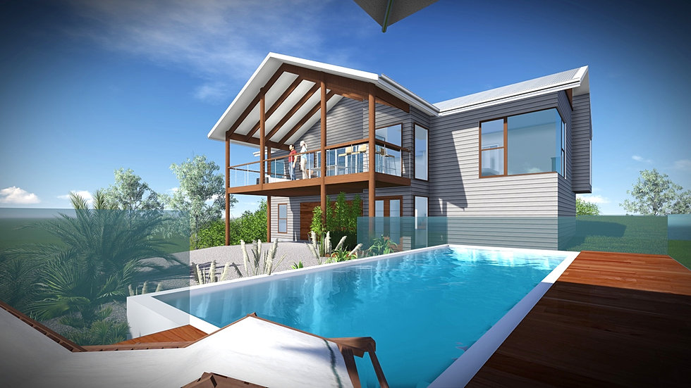 Cooran sunshine coast for Beach house designs sunshine coast