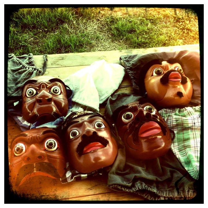 masques balinais