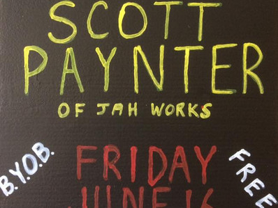 Third Friday with Scott Paynter