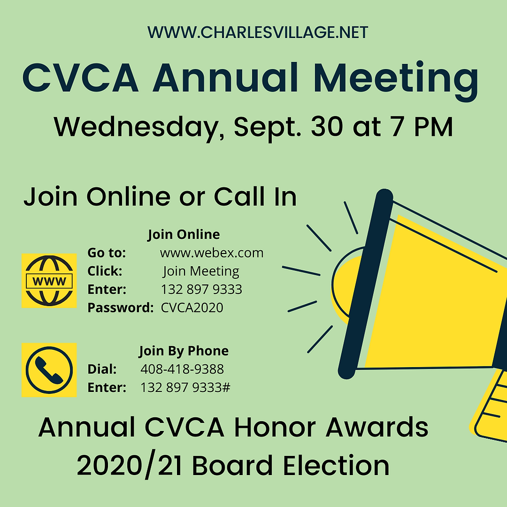 Annual meeting WebEx Information