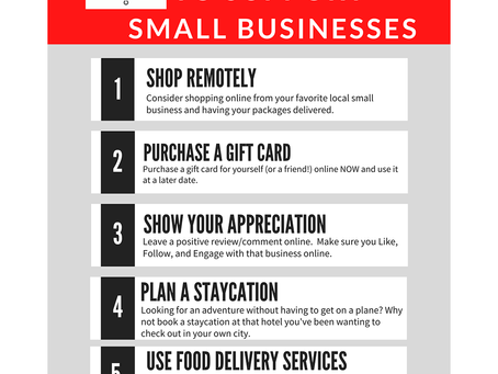 Support our local businesses!