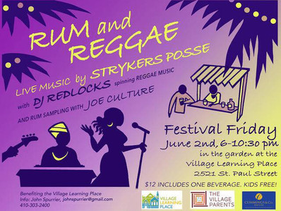 Rum and Reggae (Festival kickoff!)