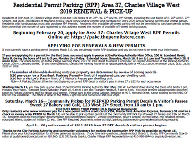 RPP Area 37 Renewal Notice