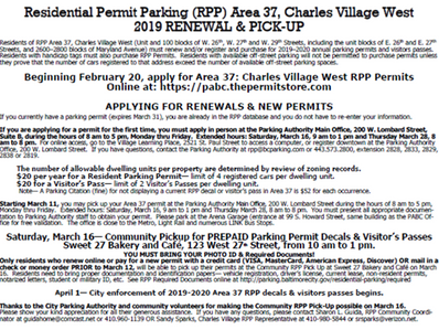 RPP Area 37 Renewal Notice