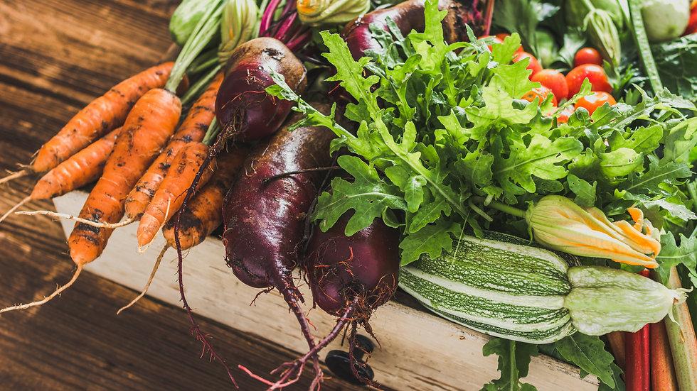 Mixed Weekly Veg and Salad box