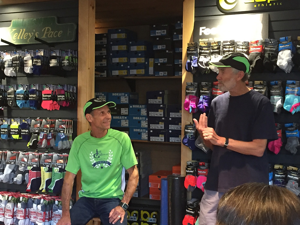 Jeff Galloway Speaks at Kelley's Pace  Mihelle Hamilton, Author and Editor for Runners World, attended our talk and gives  great recap and insight into Jeff Galloway's Run Walk, Run method of training.