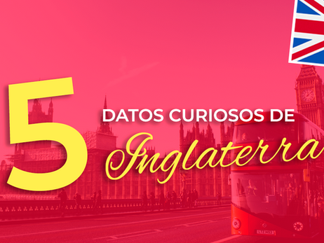 5 Datos Curiosos de Inglaterra 💂♂🇬🇧