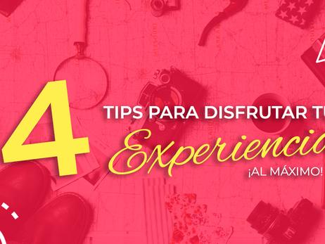 4 Tips para DISFRUTAR tu experiencia ¡al máximo! ✈️🧳