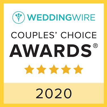 Wedding Wire Couples Choice Award 2020.p
