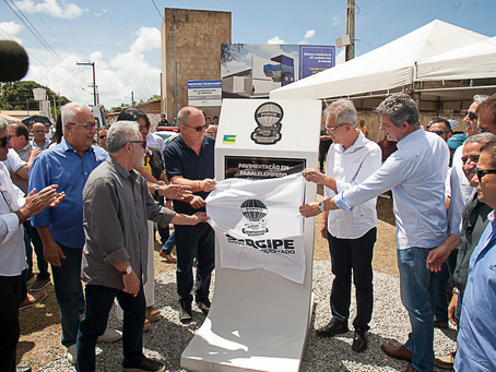 Governo inaugura pavimentação da rodovia do Caípe Velho, em São Cristóvão