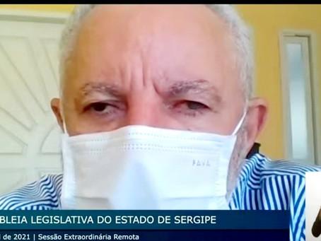 Gualberto diz que somente vacinação e distanciamento social rígido conseguem diminuir mortes por Cov