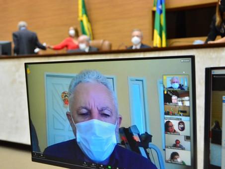 Gualberto agradece por publicidade do governo do Estado a favor da vacinação