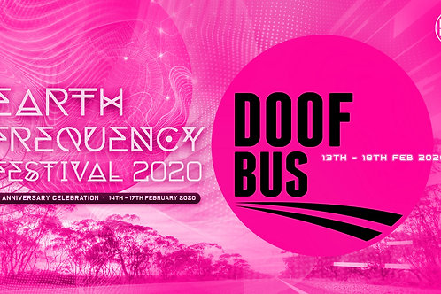 Return Coach Travel to Earth Frequency Festival 2020