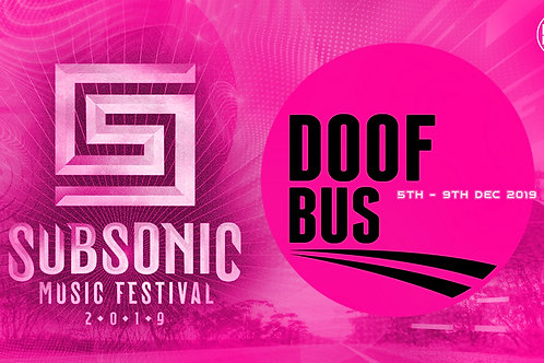 Return Coach Travel to Subsonic Festival 2019