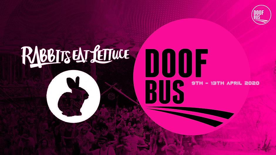 Rabbits Eat Lettuce DOOF BUS facebook ev