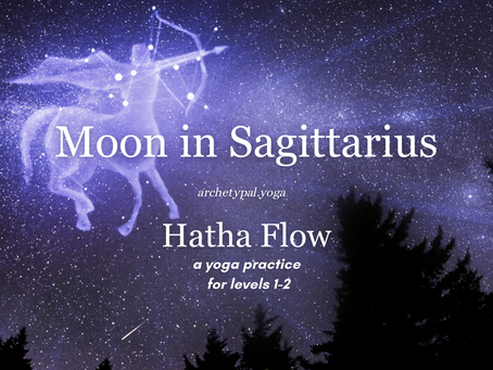 Moon in Sagittarius Hatha Flow - November 15, 2020