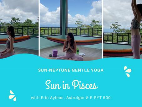 Sun in Pisces conjunct Neptune | Gentle Archetypal Yoga Practice | Erin Aylmer