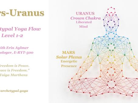 Mars-Uranus: Archetypal Yoga Flow - Jan 17, 2021