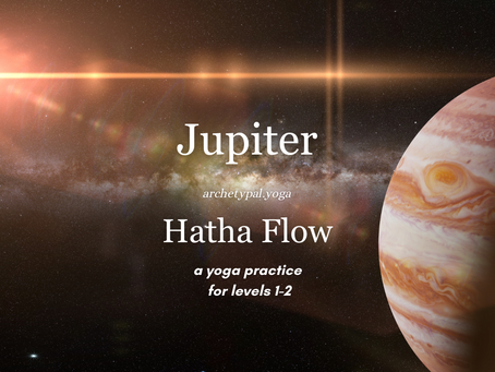 Jupiter Hatha Flow - November 8, 2020