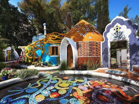Fairy Tale houses in Limassol, Cyprus