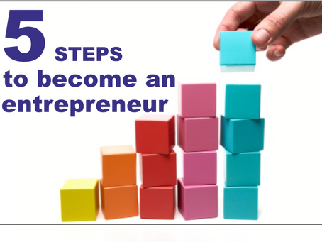 5 easy steps to become an entrepreneur