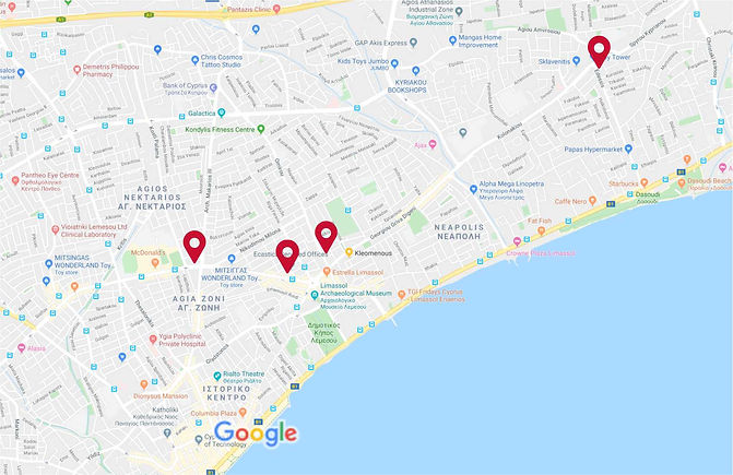 ecastica offices map